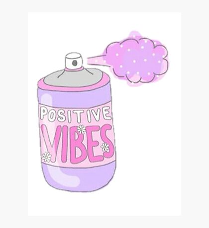positive vibes in a can Photographic Print