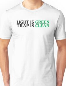 Ghostbusters - Light Is Green, Trap Is Clean - Black Clean Unisex T-Shirt
