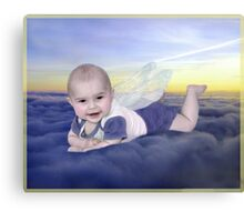 angel baby Canvas Print