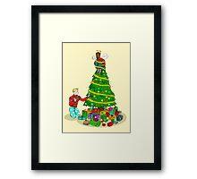 It's a Very Steve Rogers Christmas Framed Print