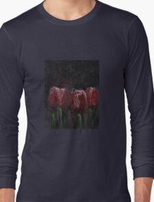 Saucy Tulips Long Sleeve T-Shirt