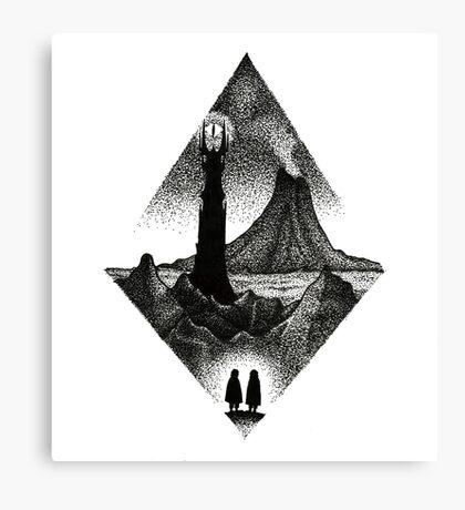 Mordor Canvas Print