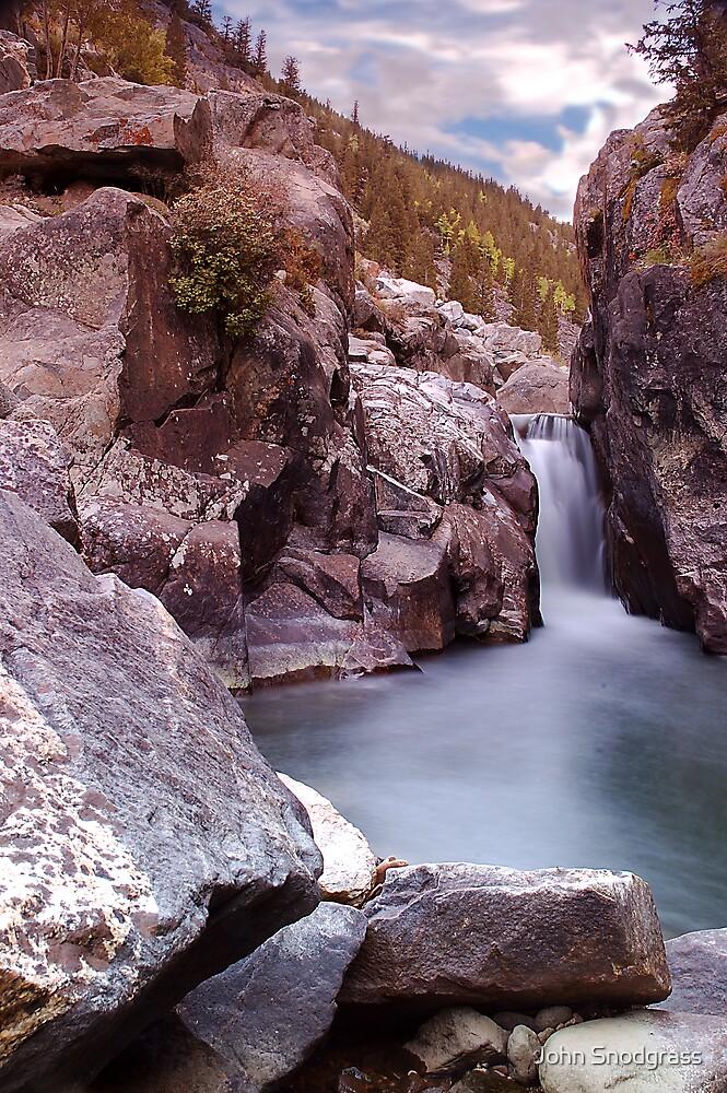 Poudre Falls by John Snodgrass