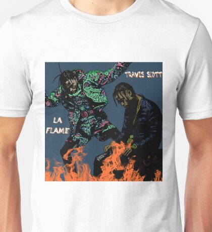 Fire At The Rodeo Unisex T-Shirt