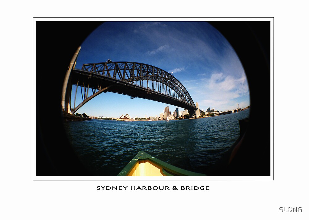 sydney harbour bridge by SLONG