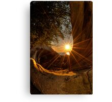 Sunset at Spanish Bank Canvas Print