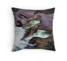 Running Waters Throw Pillow