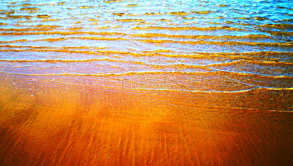 Blue and Orange by Erica Corr