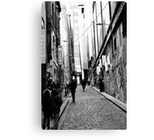 Hosier Lane, Melbourne Canvas Print