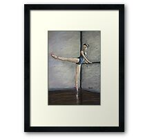 Dance is the hidden language of the soul Framed Print