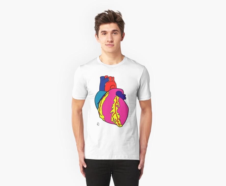 Big Heart by Bizarro Art