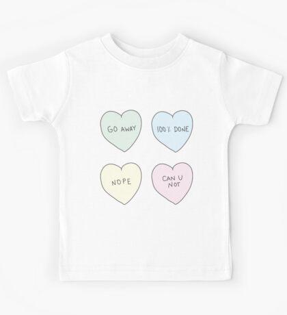 Sassy Hearts Kids Tee