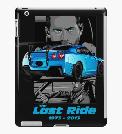 Last Ride iPad Case/Skin
