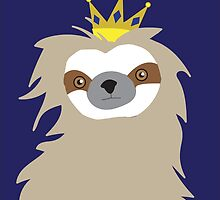 Royal Sloth by Katelyn Ratajczak