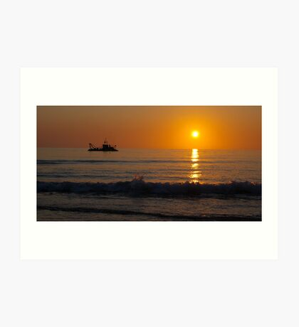 A South Australian Sunset Art Print