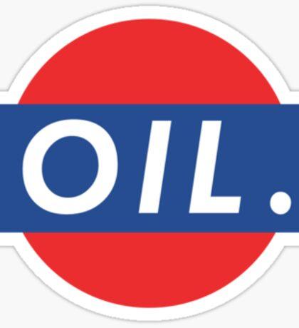 Oily Sticker