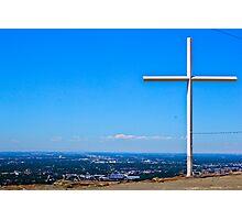 Cross Watch Photographic Print