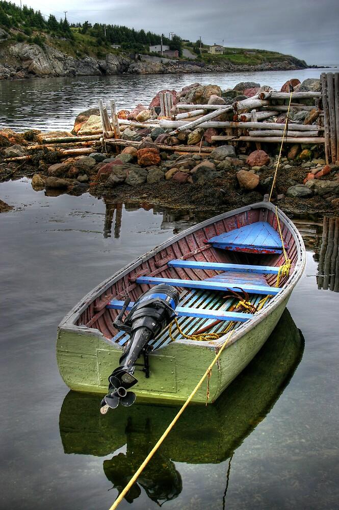 Rowboat by Kevin  Kroeker