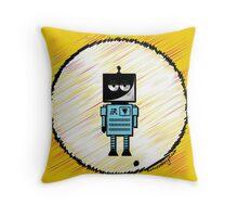 R O B O T  Throw Pillow