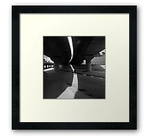 the journey agent Framed Print