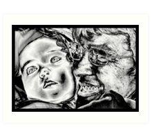A Grandma`s Love Art Print