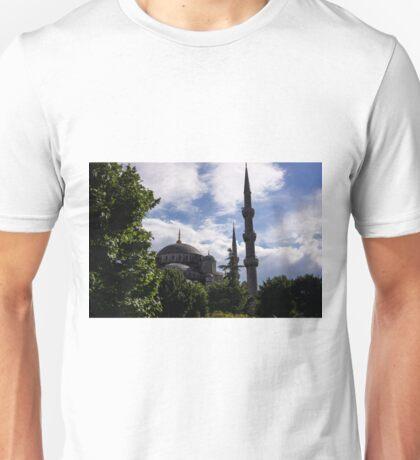 Blue Mosque Unisex T-Shirt