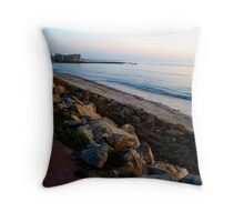 North Glenelg at Sunset, South Australia Throw Pillow