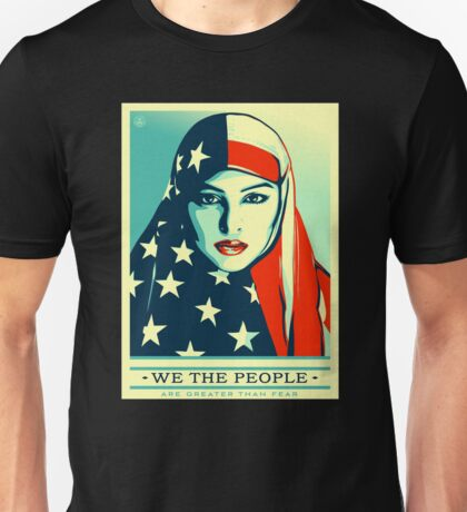 We The People - Peace in Arabic Unisex T-Shirt