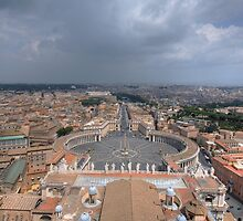 The Vatican City - Rome by KrisKeen