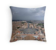 The Vatican City - Rome Throw Pillow