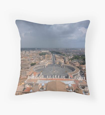 The Vatican City - Rome Throw Pillow