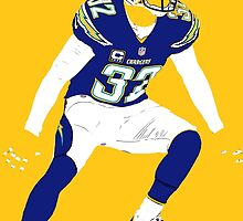Eric Weddle by BeinkVin