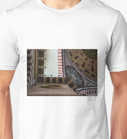 Interior Of Suleymaniye Unisex T-Shirt
