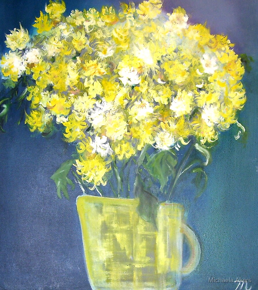 Chrysanthemums by Michaela Akers