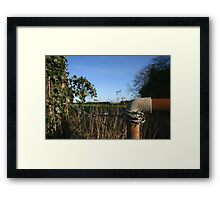 Made in England Framed Print