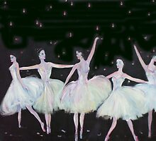Ballet in Blue by Michaela Akers