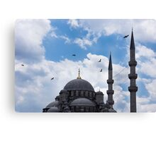 The Blue Mosque Minarets Canvas Print