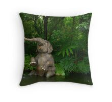 Playful Baby Throw Pillow