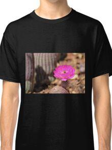 Hot Pink Cactus Bloom Classic T-Shirt
