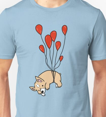 Corgi Away Unisex T-Shirt