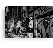 Streets To Galata Canvas Print