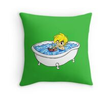 The Great Tub Throw Pillow