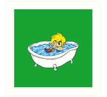 The Great Tub Art Print