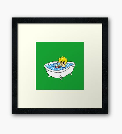 The Great Tub Framed Print