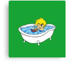 The Great Tub Canvas Print