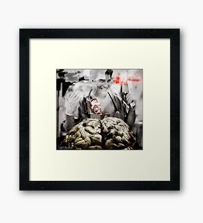 Where are Beck's Big Ideas Coming From? Framed Print