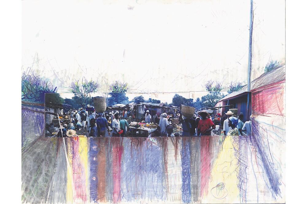 Haiti , sunday market. by moonysun