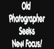 Old Photographer...... by David McAuley