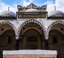 The Courtyard Of Suleymaniye by Mohammed Abdul Quddus