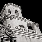 The Bell Tower - San Xavier Mission by Lucinda Walter